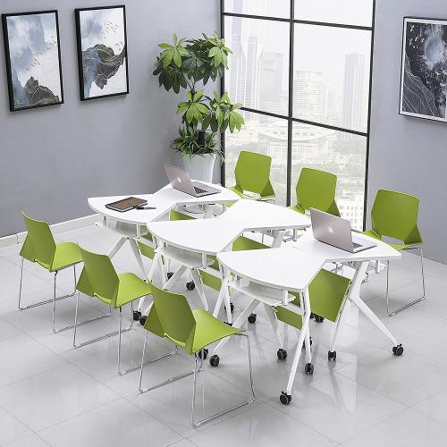 学校智慧教室课桌椅单人组合