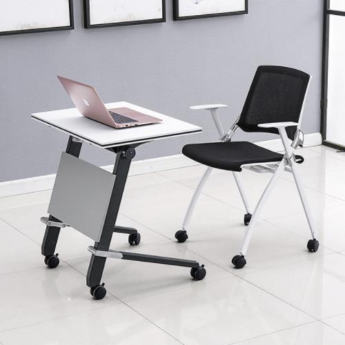 培训课桌椅不同角度展示2
