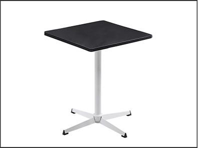 学校休闲区课桌椅黑面白架颜色