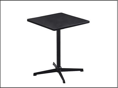 学校休闲区课桌椅全黑颜色
