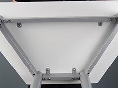校用课桌椅,六边梯形桌细节3