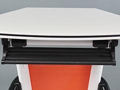单人课桌椅细节展示2