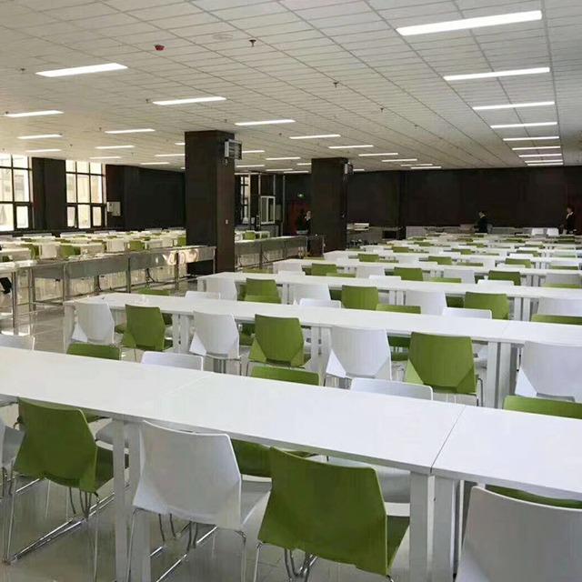 学校饭堂餐桌椅-1678