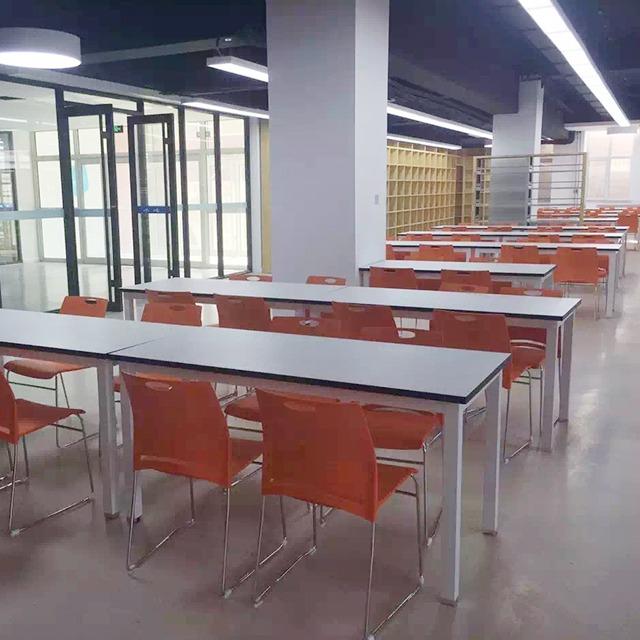 学校饭堂餐桌椅-1628