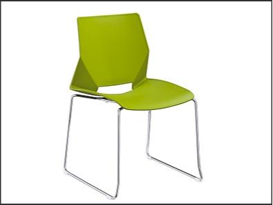 学校食堂餐厅餐桌椅颜色展示3
