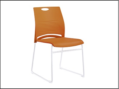 学校饭堂桌椅颜色实拍图4