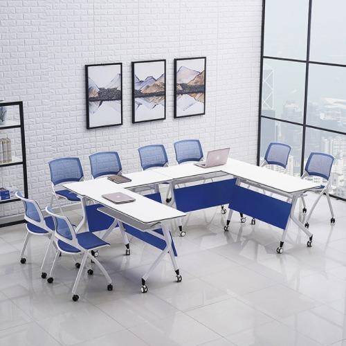 智慧课堂桌椅条形组合