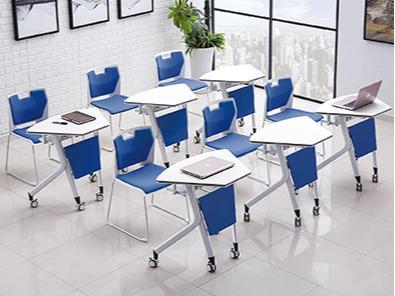 学生课桌椅生产厂家桌子实拍图3