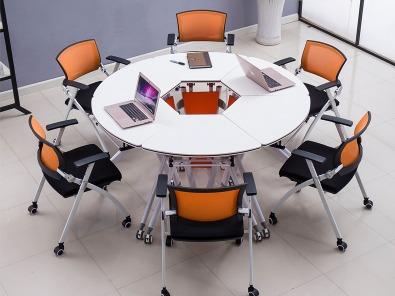 高校智慧教室课桌椅实拍场景4