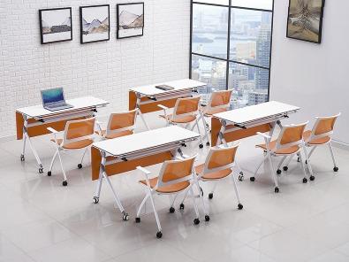 高校智慧教室课桌椅实拍场景3