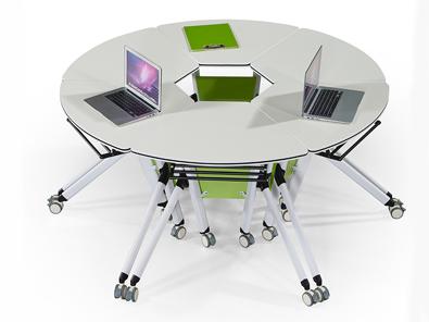 单人课桌椅实拍图5