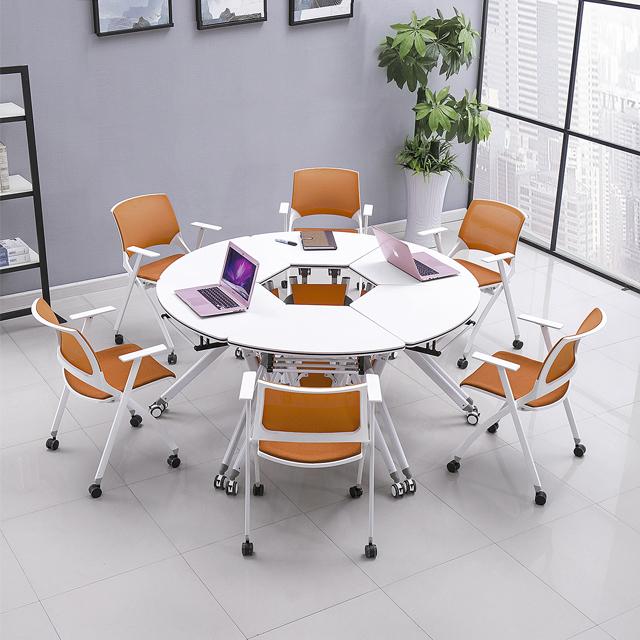 智慧教室桌椅-D03
