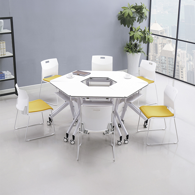 智慧教室梯形桌椅-D05B