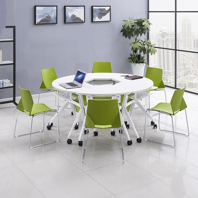 智慧教室桌椅-D04
