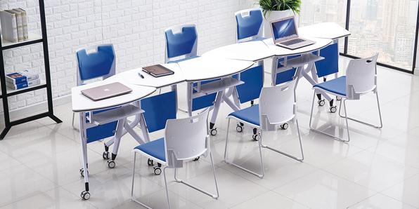 学生课桌椅生产厂家桌子实拍图2