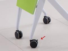 课桌椅厂家单人位扇形桌细节展示4