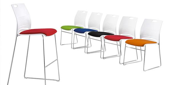 学校饭堂桌椅颜色实拍图1