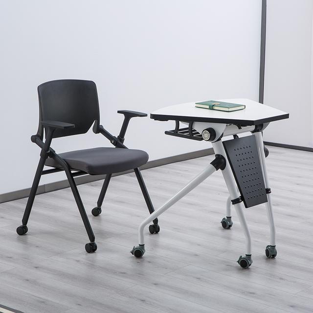 智慧拼合桌椅单人组合图