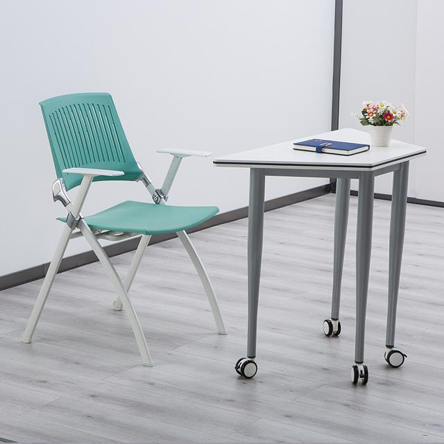 智慧教室拼接桌椅双人