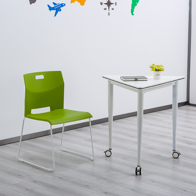 录播室桌椅单人组合图