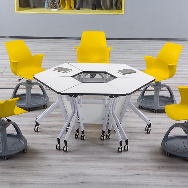 多功能教室桌椅-d05