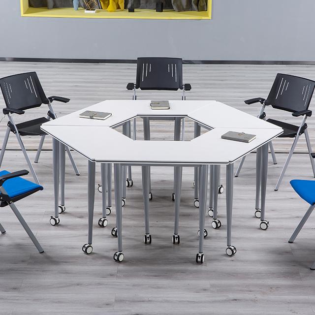 多功能教室桌椅-d26