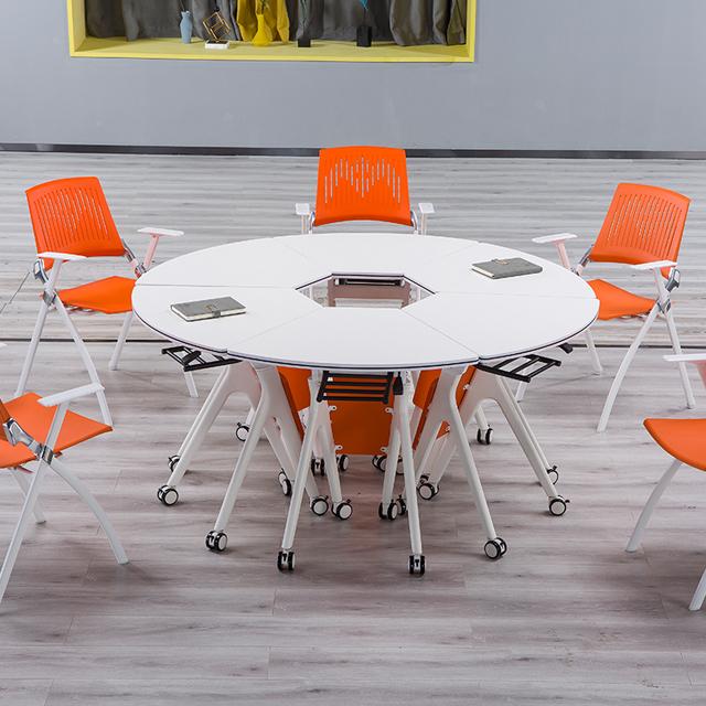 多功能教室桌椅-d28