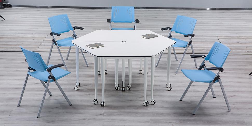 录播教室桌椅拼接组合