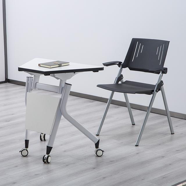 学生梯形桌不同角度1