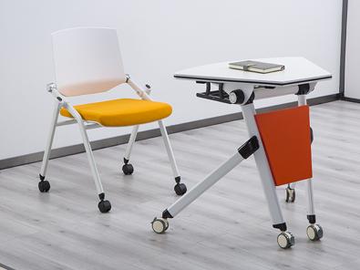 单人课桌椅实拍图3