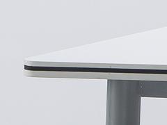 校用课桌椅,六边梯形桌细节1