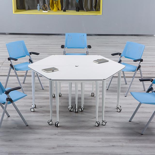 拼接教学课桌椅不同角度3