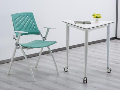 拼接教学课桌椅实拍图5