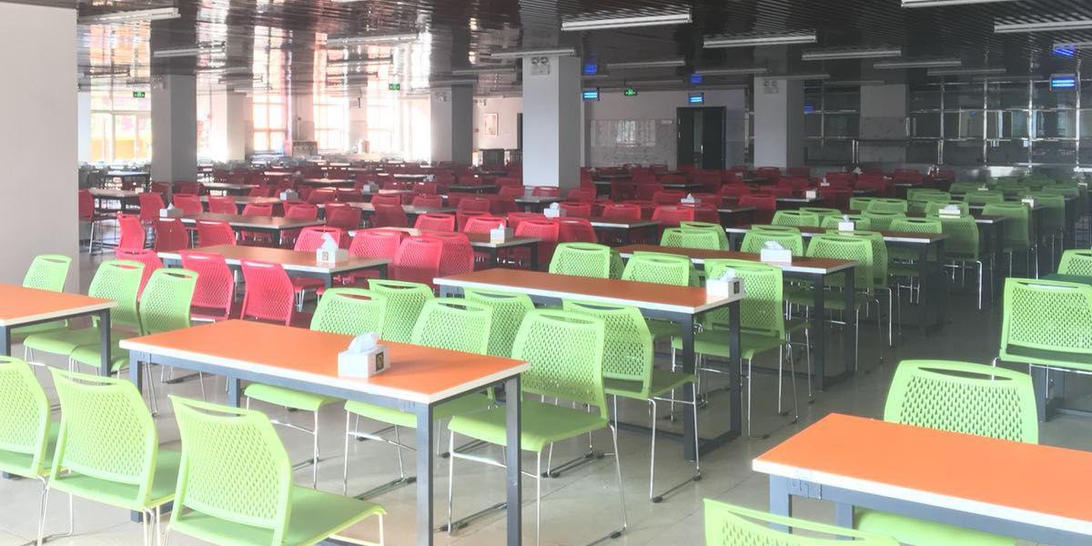 学校饭堂餐厅椅案例