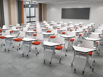 学生梯形桌实拍图3