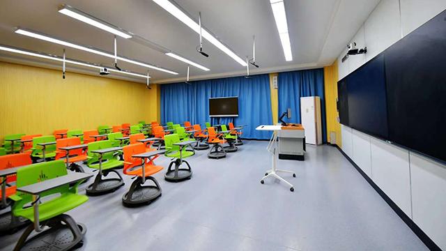 写字板360度旋转学生椅案例