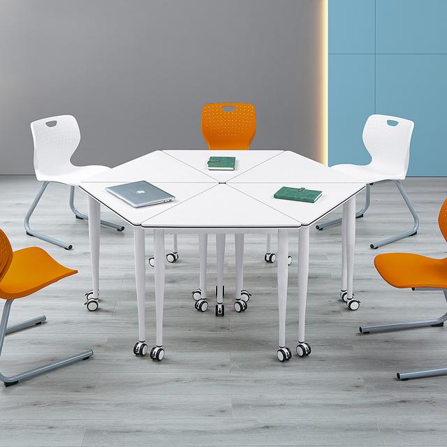 录播教室桌椅-D27