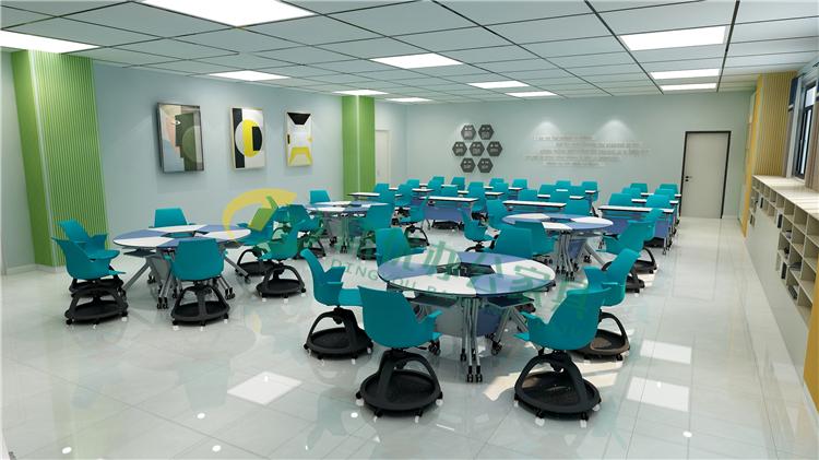 学校智慧教室桌椅厂家