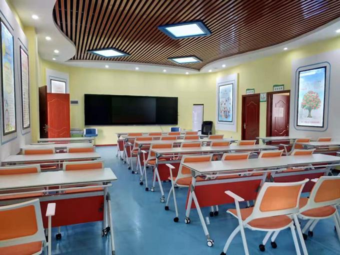学校家具的教室拼接桌椅