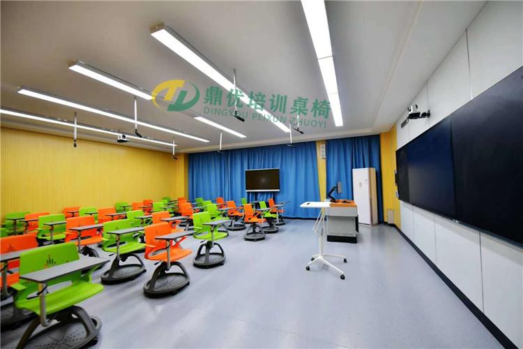 写字板360度旋转学生椅