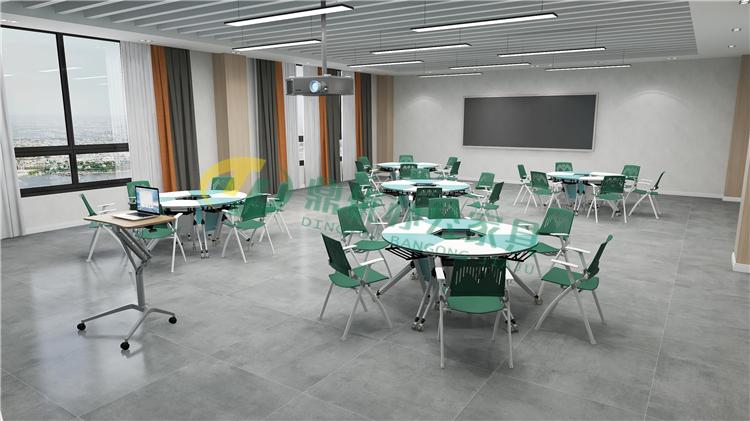 智慧教室可拼接桌椅