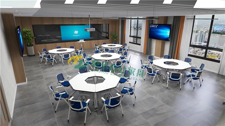 标准型智慧教室桌椅