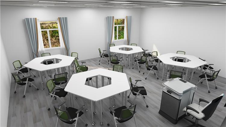 智慧教室组合课桌椅