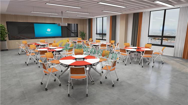 小组研讨教室桌椅