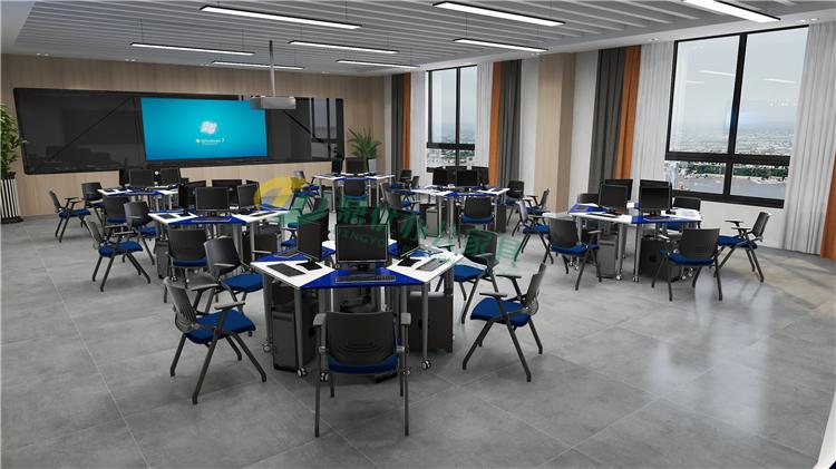 学校录播教室课桌椅
