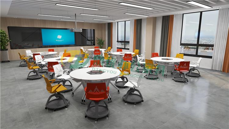 高校智慧教室课桌椅
