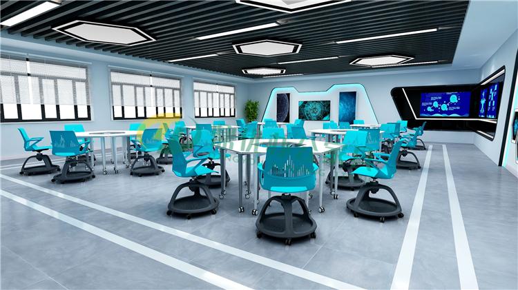 互动研讨教室桌椅