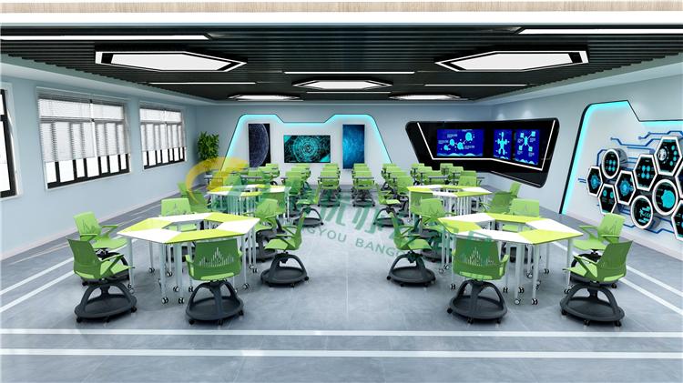 互动型多媒体智慧教室桌椅