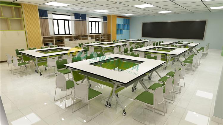 阅读室拼接桌