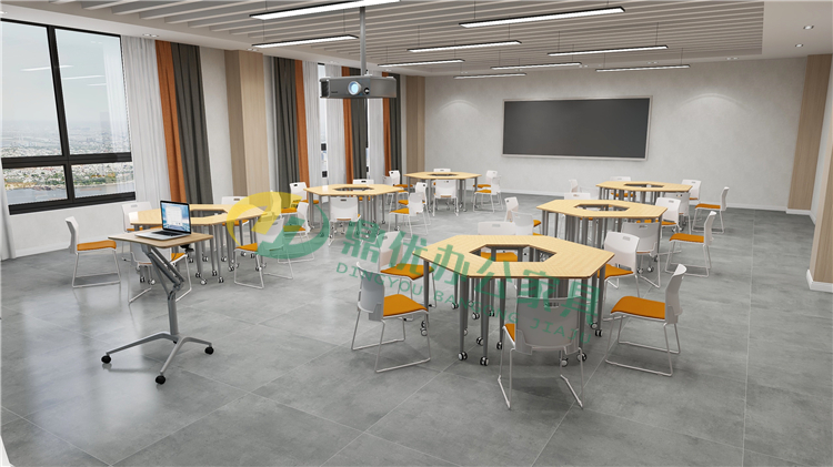 智慧教室使用桌椅